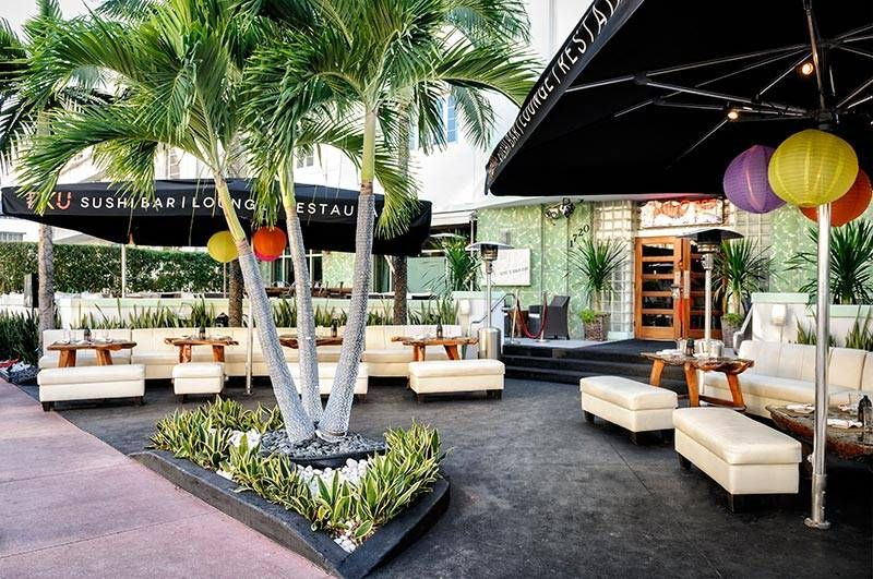 Catalina Hotel Patio Taco South Beach Restaurant